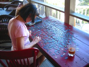 For some cool jigsaw puzzles, be sure to check out http://www.jspuzzles.com/