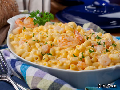 Shrimp Mac and Cheese
